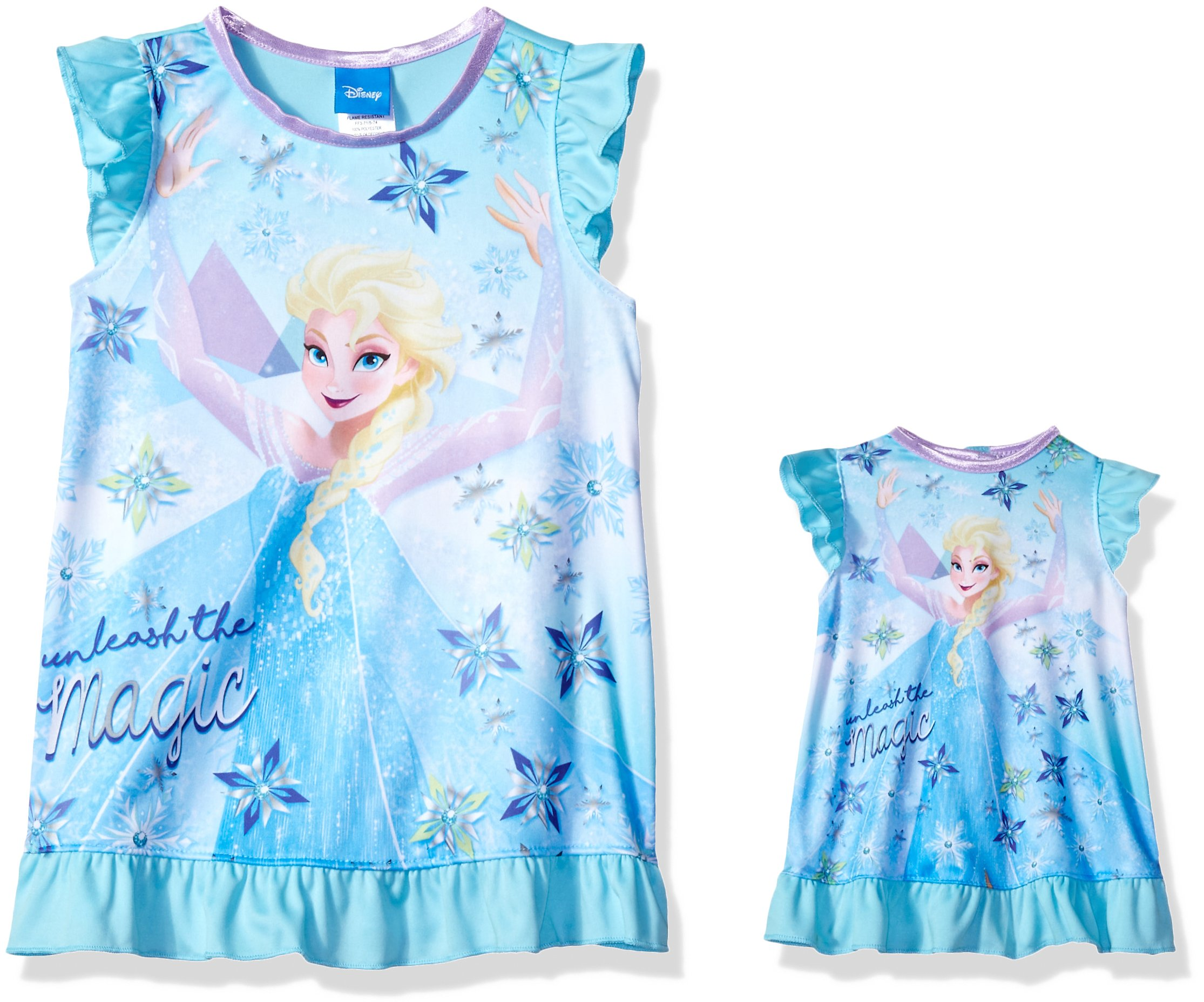 Disney Girls\' Frozen Nightgown - 21FZ717GD < Nightgowns < Clothing ...