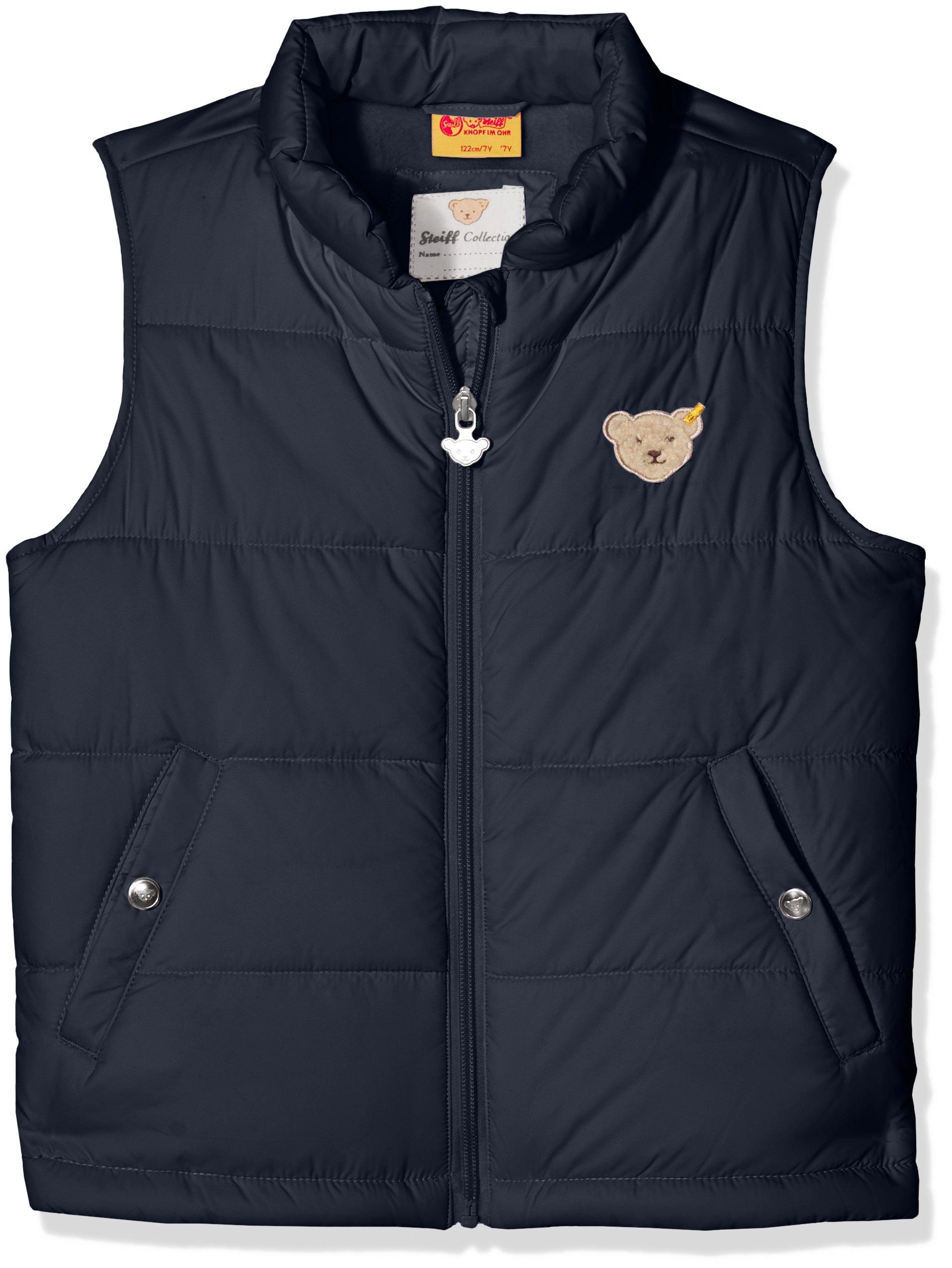 Steiff Unisex Vest Without Sleeves, Blue (122)