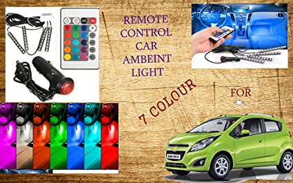 Remote Control Ambient Lighting Interior Led Light For Chevrolet