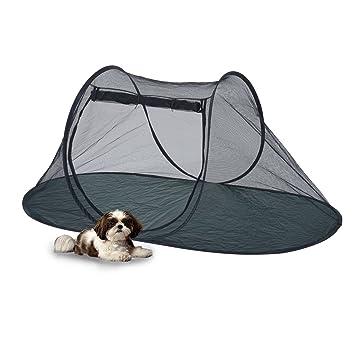 Pawhut Camping tienda de campaña al aire libre plegable de mascota Perro Gato Malla Funhouse jugar ejercicio Parque cama W/bolsa: Amazon.es: Productos para ...