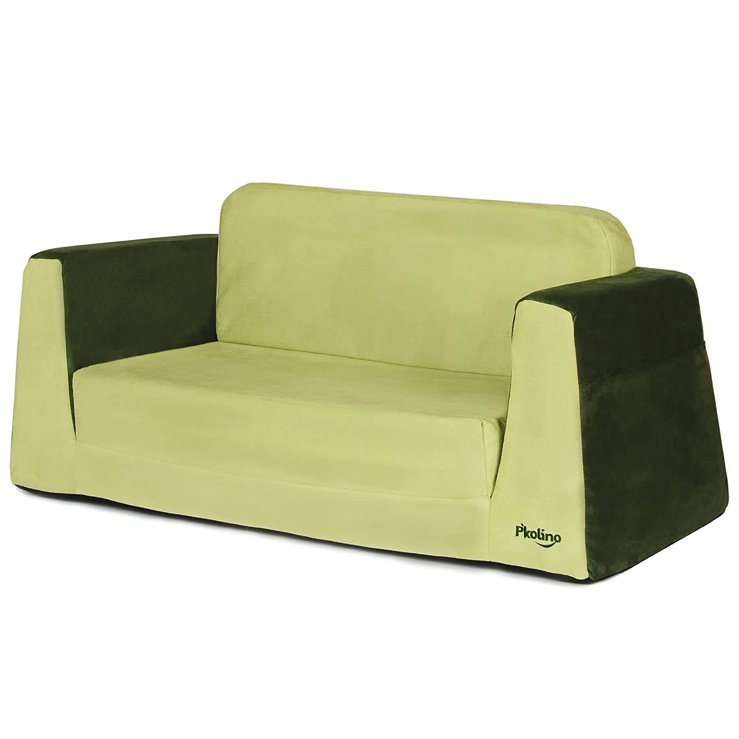 amazoncom pkolino little sofa lounge green discontinued by manufacturer baby - Toddler Sofa