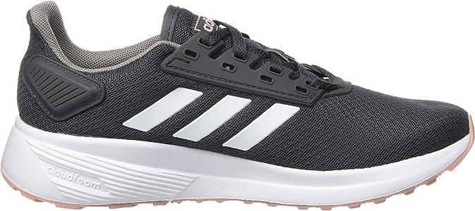adidas Duramo 9, Zapatillas para Correr para Mujer, Grey Six/FTWR White/Pink Spirit, 36 EU: Amazon.es: Zapatos y complementos