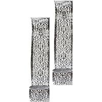 elbmöbel - Portavelas de pared (2 unidades, metal