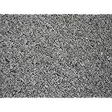 25 kg Schwarz / Anthrazit Basaltsplitt 8-16 mm - Basalt Splitt Edelsplitt Lava Lavastein - LIEFERUNG KOSTENLOS