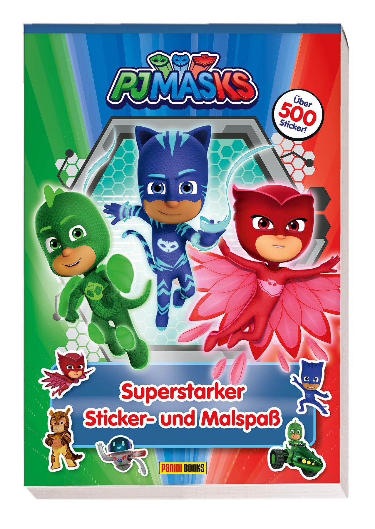 PJ Masks: Superstarker Sticker- und Malspaß: über 500 Sticker ...