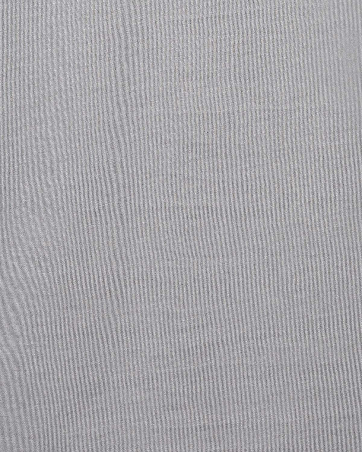 Hickey Freeman Silver Mens Short Sleeve Pima Cotton V-Neck T-Shirt