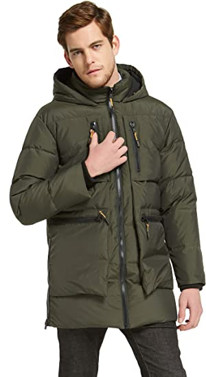Orolay Men/'s Thickened Down Jacket Winter Warm Down Coat