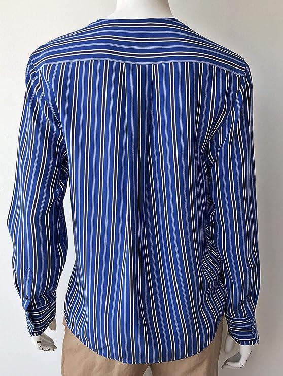 3a5247d45a34 rag & bone Felix Stripe Popover at Amazon Women's Clothing store: