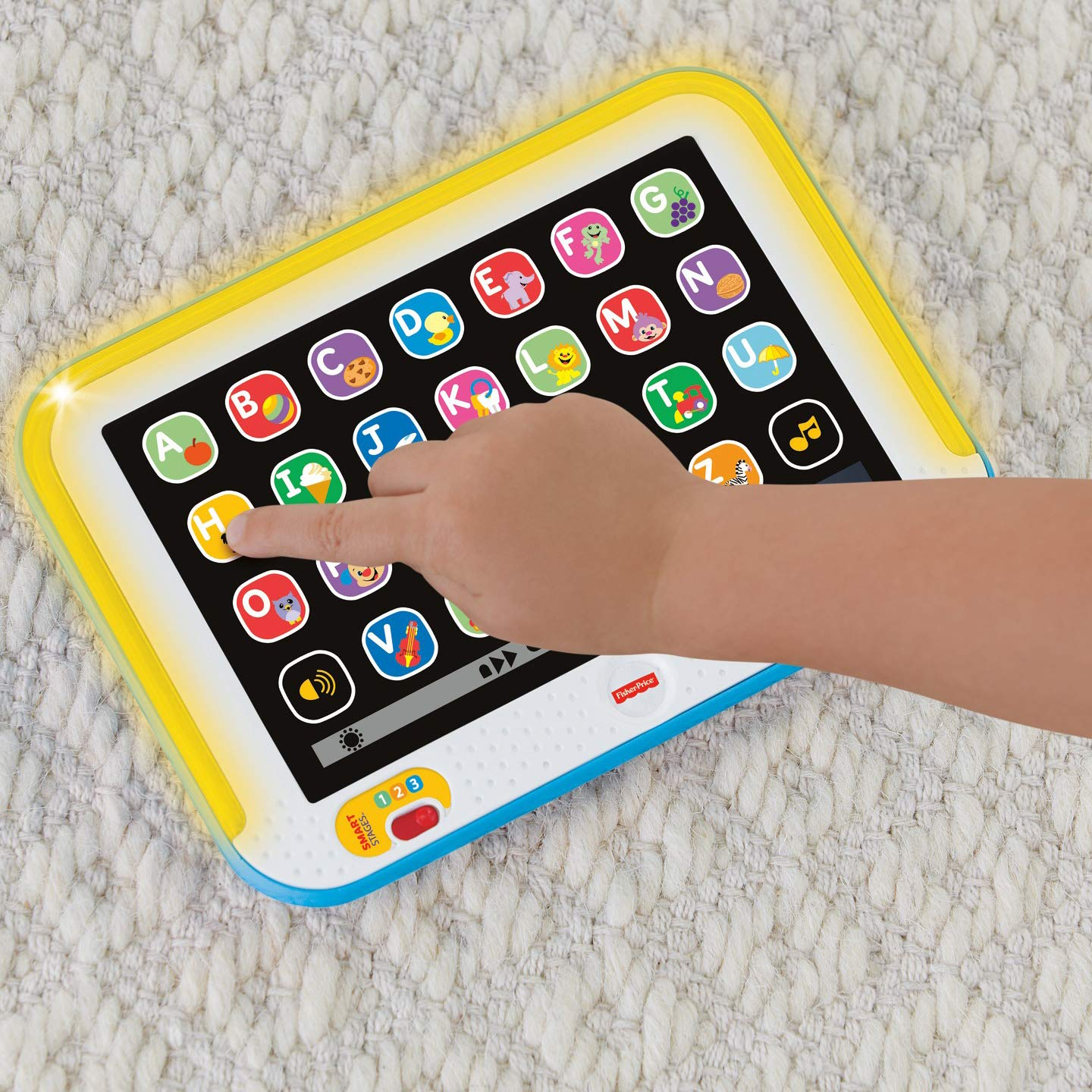 Fisher-Price Laugh & Learn Smart Stages Tablet, Blue by Fisher-Price (Image #10)
