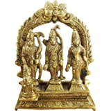"Hindu Gods and Goddesses - Lord Rama Laxman and Sita Religious Indian Art Sculpture - 3.1"" x 3"" x 1"""