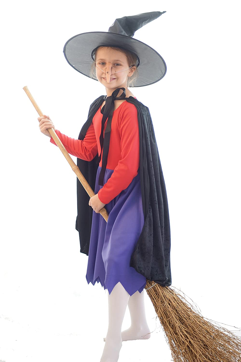 Amazon.com CL COSTUMES World Book Day-Halloween-Fancy Dress-Witch- Room On The Broom Witch Costume - All Childrenu0027s Sizeu0027s Clothing  sc 1 st  Amazon.com & Amazon.com: CL COSTUMES World Book Day-Halloween-Fancy Dress-Witch ...