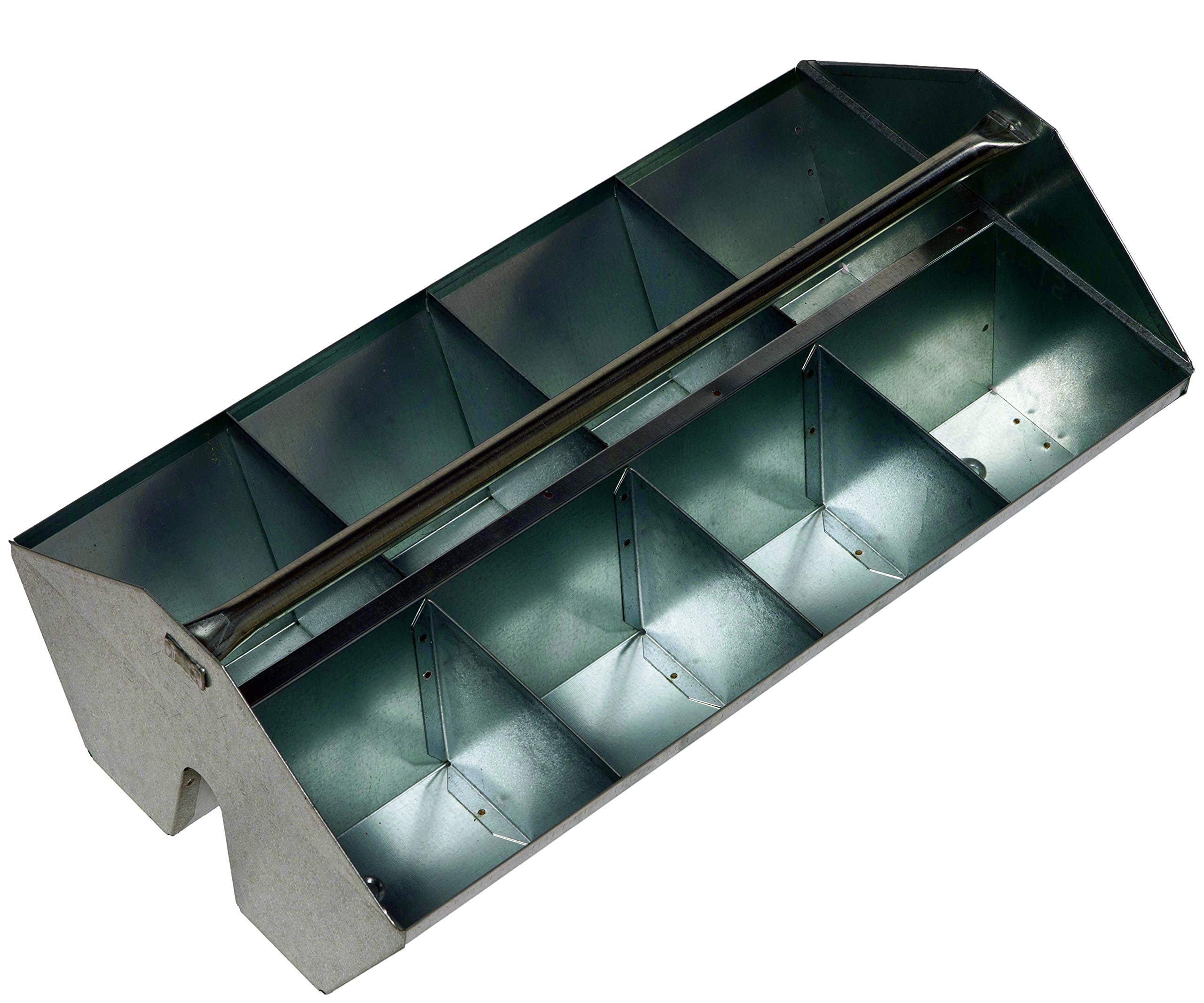 MB78010 Klenk Stak-N-Tote Fittings Tote Tray, 8 Compartment by KLENK
