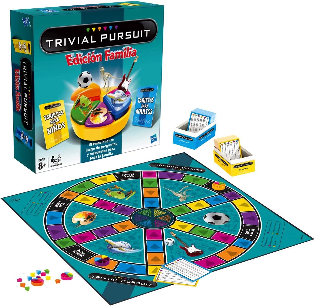 Hasbro - Trivial Pursuit Familia (73013546): Amazon.es: Juguetes y ...