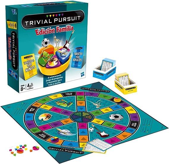 Hasbro - Trivial Pursuit Familia (73013546): Amazon.es: Juguetes y juegos