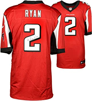 Matt Ryan Atlanta Falcons Autographed Nike Red Elite Jersey - Fanatics  Authentic Certified - Autographed NFL 3b8e38763