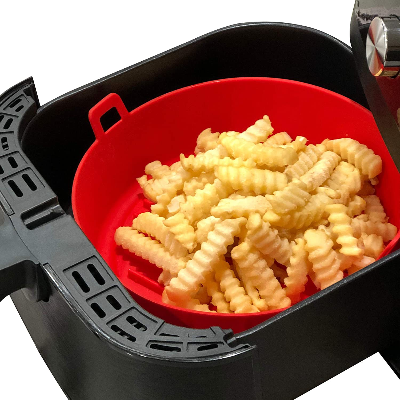 Amazon Com Wavelu Air Fryer Silicone Pot Upgraded Food Safe