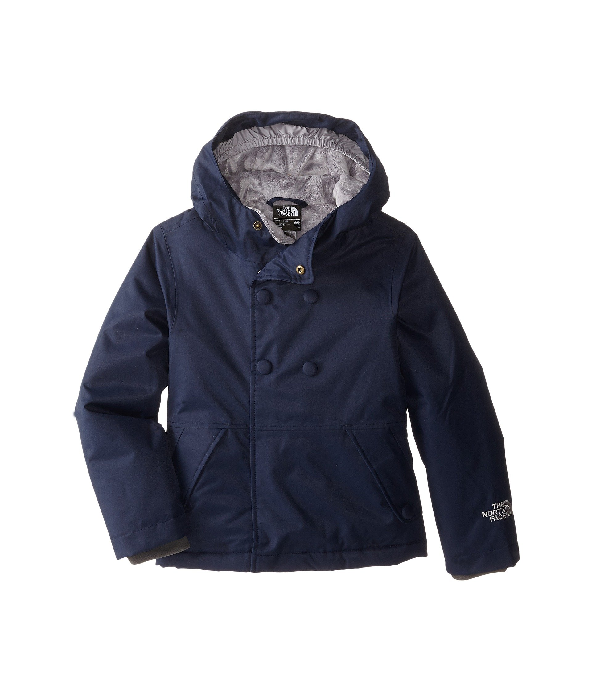 The North Face G Harmonee Peacoat Jacket Cosmic Blue Girls XXS by The North Face