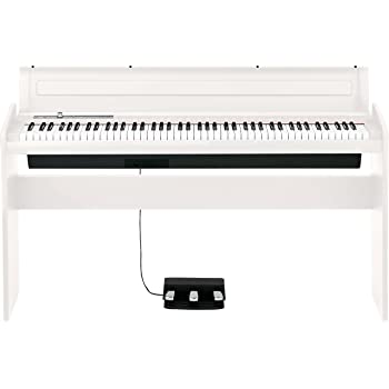 korg lp180wh 88 key lifestyle piano white musical instruments. Black Bedroom Furniture Sets. Home Design Ideas
