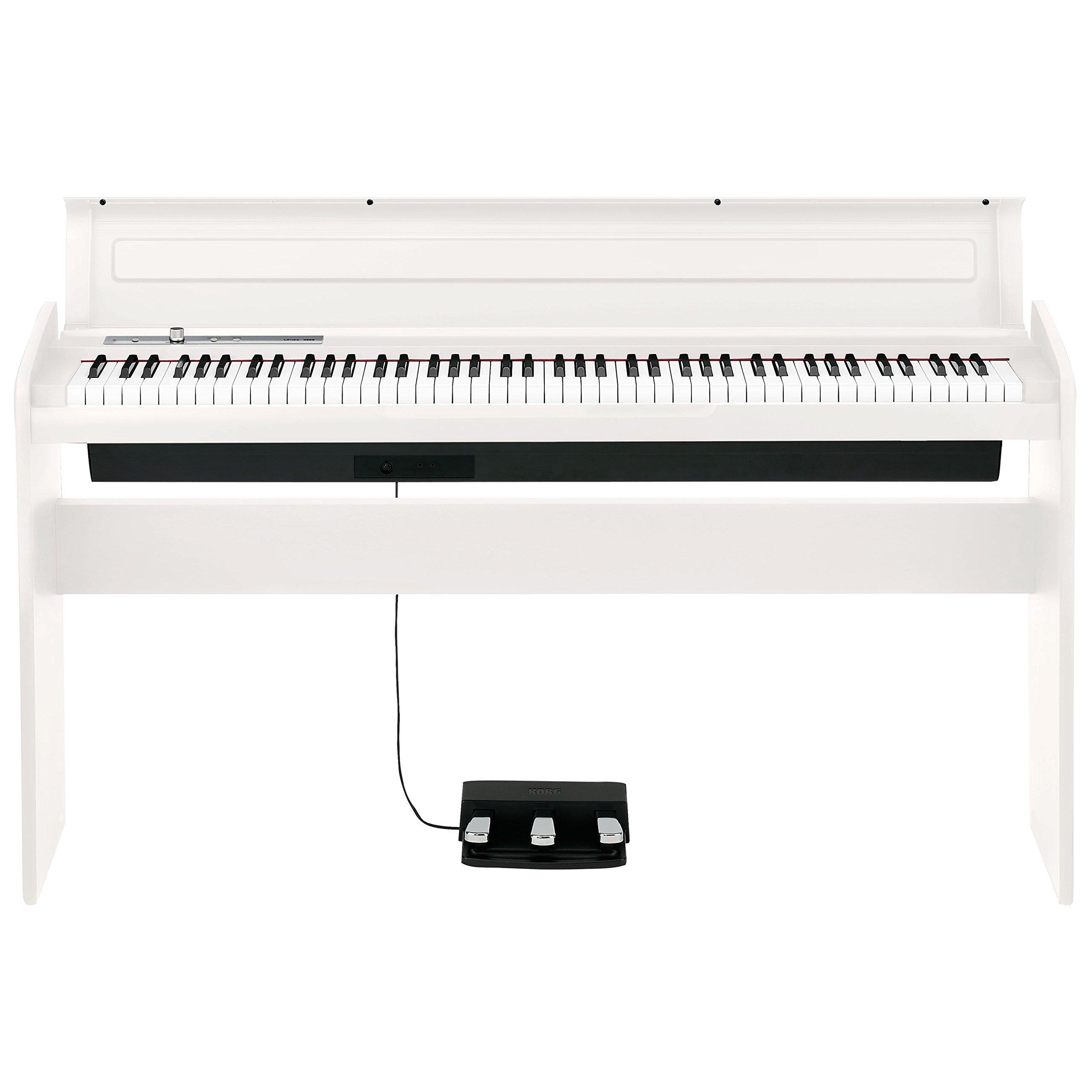 Korg 88 Key Lifestyle Piano White (LP180WH) by Korg