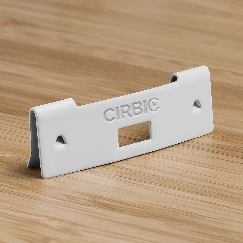 10, White Cirbic 10 Vertical Blind Vane Repair Clips