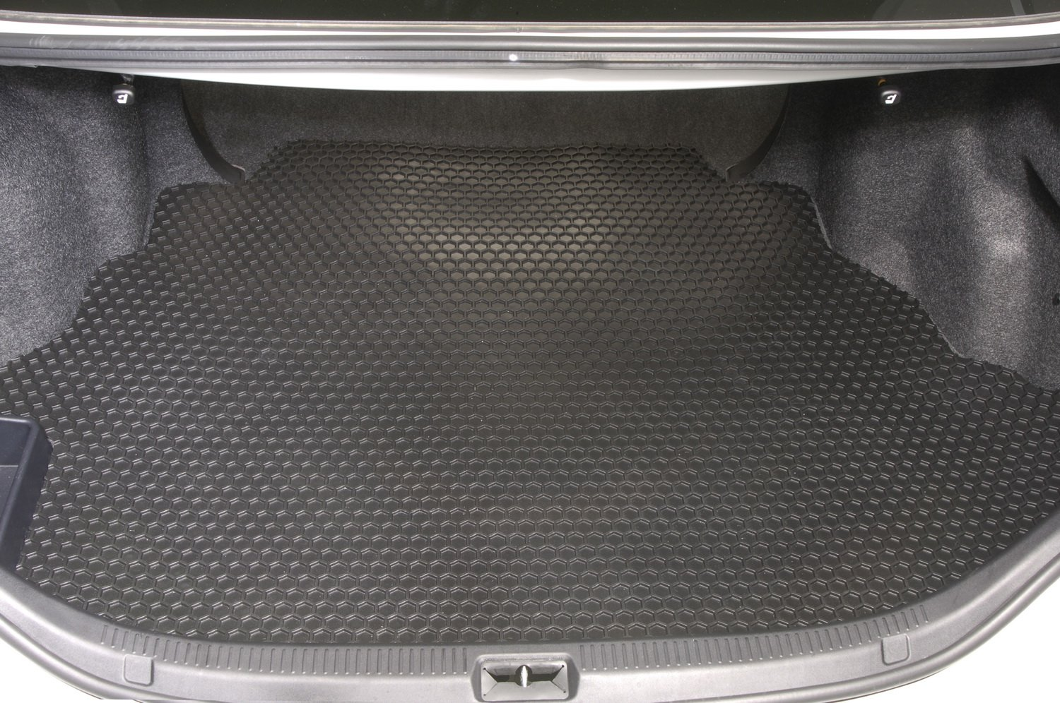 Custom Floor Mats for Select Acura RL Series Models Clear Intro-Tech AC-149F-RT-C Hexomat Front Row 2 pc Rubber-Like Compound