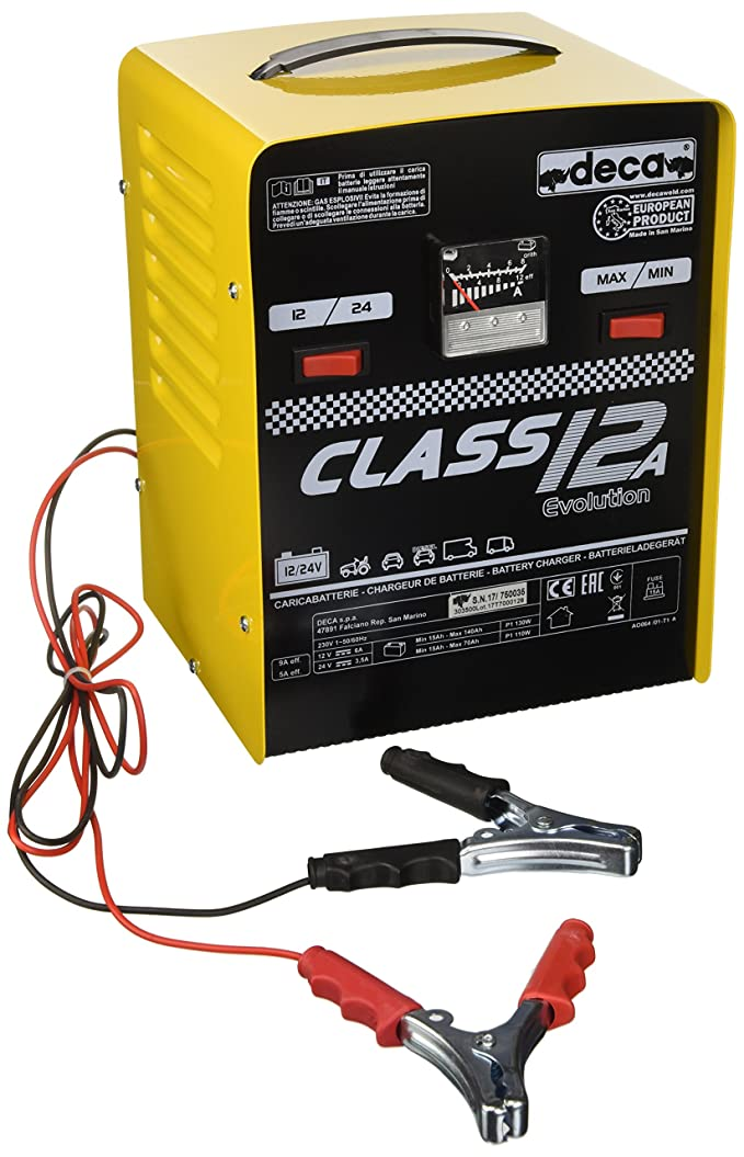 DECA CLASS12A Chargeur 12/24 V 140 AH