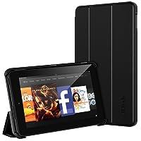 JETech J3410 - Custodia per Amazon Kindle Fire 7 (5a generazione), Nero