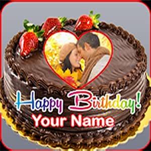 Fabulous Amazon Com Birthday Wish Maker Name Photo On Birthday Cakep Personalised Birthday Cards Xaembasilily Jamesorg