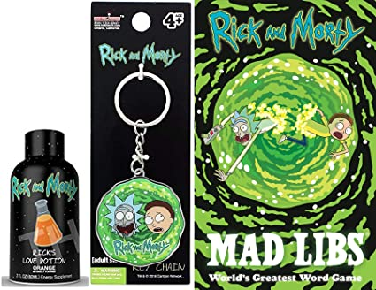 Amazon.com: Word Game Rick & Morty Character Wacky Stories ...