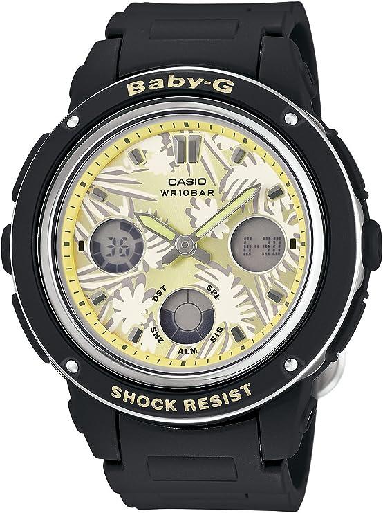 [カシオ] 腕時計 ベビージー Flower Dial Series BGA-150F-1AJF ブラック