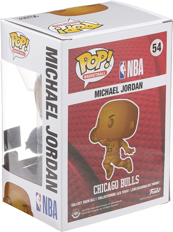 ella es Volcán cosa  1 Funko Pop! Michael Jordan Bronze Exclusive Sticker: Amazon.com.mx: Juegos  y juguetes