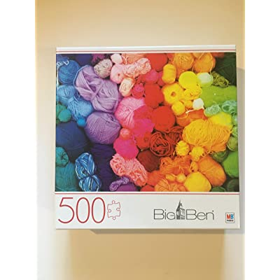 Rainbow Yarns 500 Piece Puzzle: Toys & Games