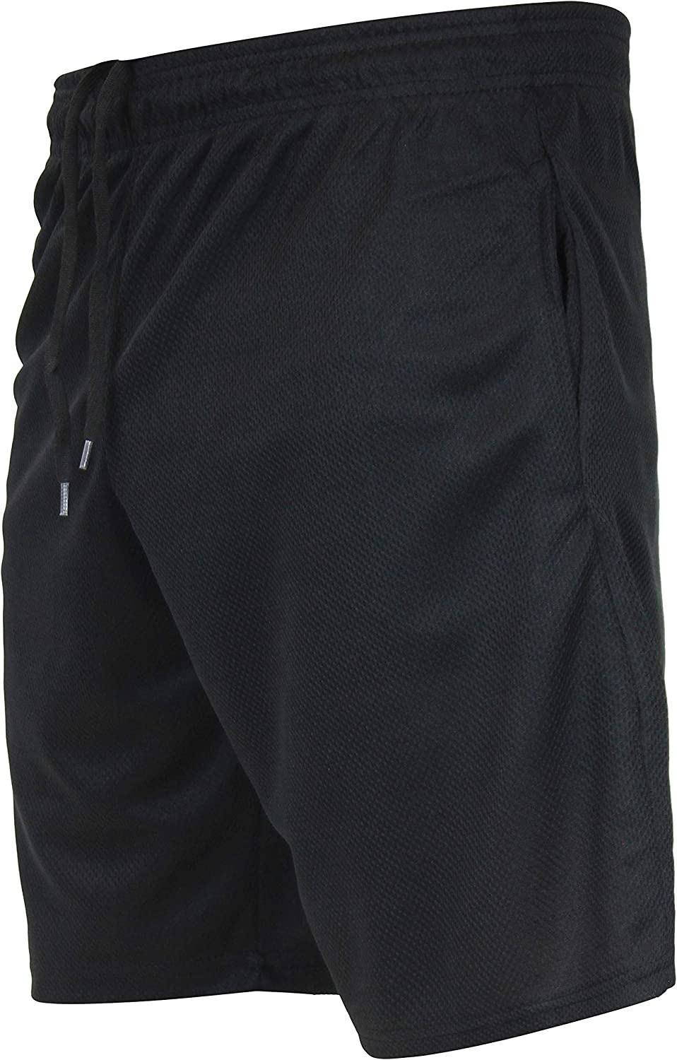 Real Essentials Boys 5-Pack Mesh Active Athletic Performance Basketball Shorts with Pockets
