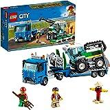 レゴ(LEGO) シティ 収穫トラクターと輸送車 60223 ブロック おもちゃ ブロック おもちゃ 男の子 車
