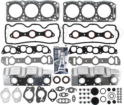Fits 87-00 Mitsubishi Montero Dodge Stealth 3.0L SOHC Head Gasket Set Bolts 6G72