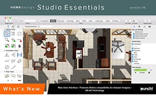 Home Design Essentials For Mac V19 Download Software
