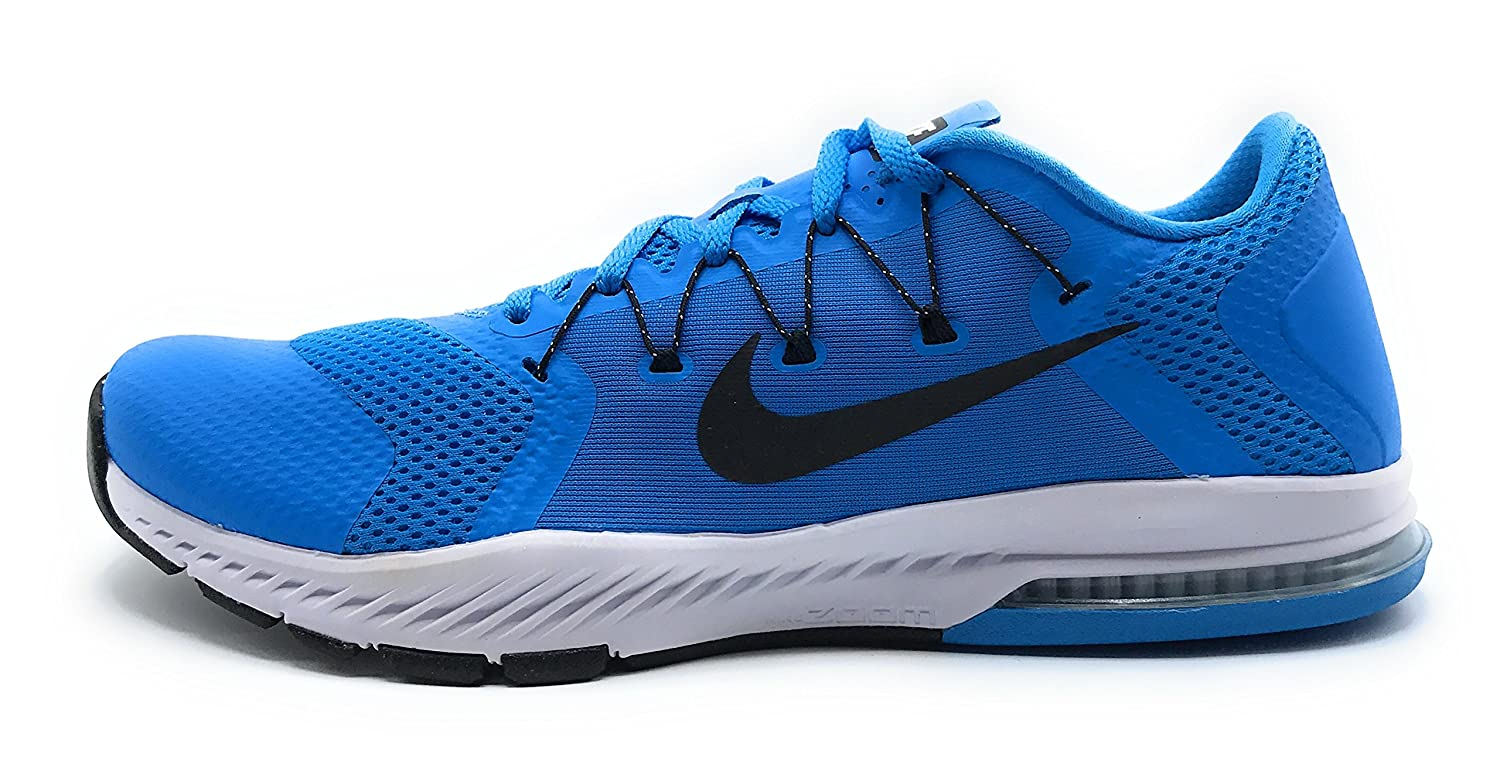 NIKE Air Zoom Train Complete Mens Running Trainers 882119 Sneakers Shoes B01DLD4W4M 9 D(M) US|Blue Glow/White/Black