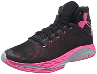 Under Armour Men's UA Fireshot Anthracite/Anthracite/Mojo Pink Athletic Shoe