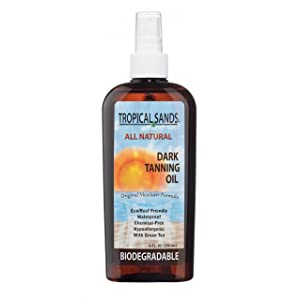 All Natural Dark Tanning Oil by Tropical Sands width=
