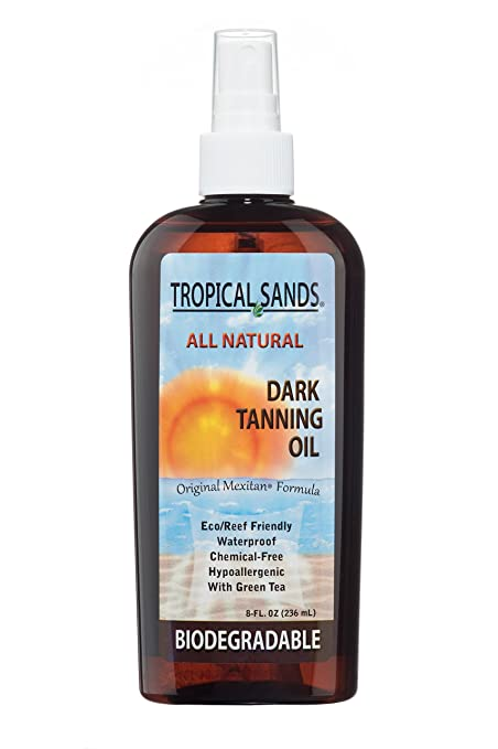 All Natural Dark Tanning Oil by Tropical Sands