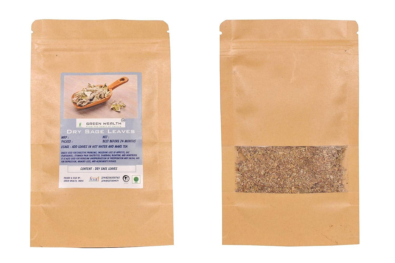 Green Wealth - Sage Leaves/Herb - 200 Grams