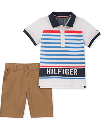 fdd86ade0c8c2 Tommy Hilfiger Baby Boys 2 Pieces Polo Shorts Set