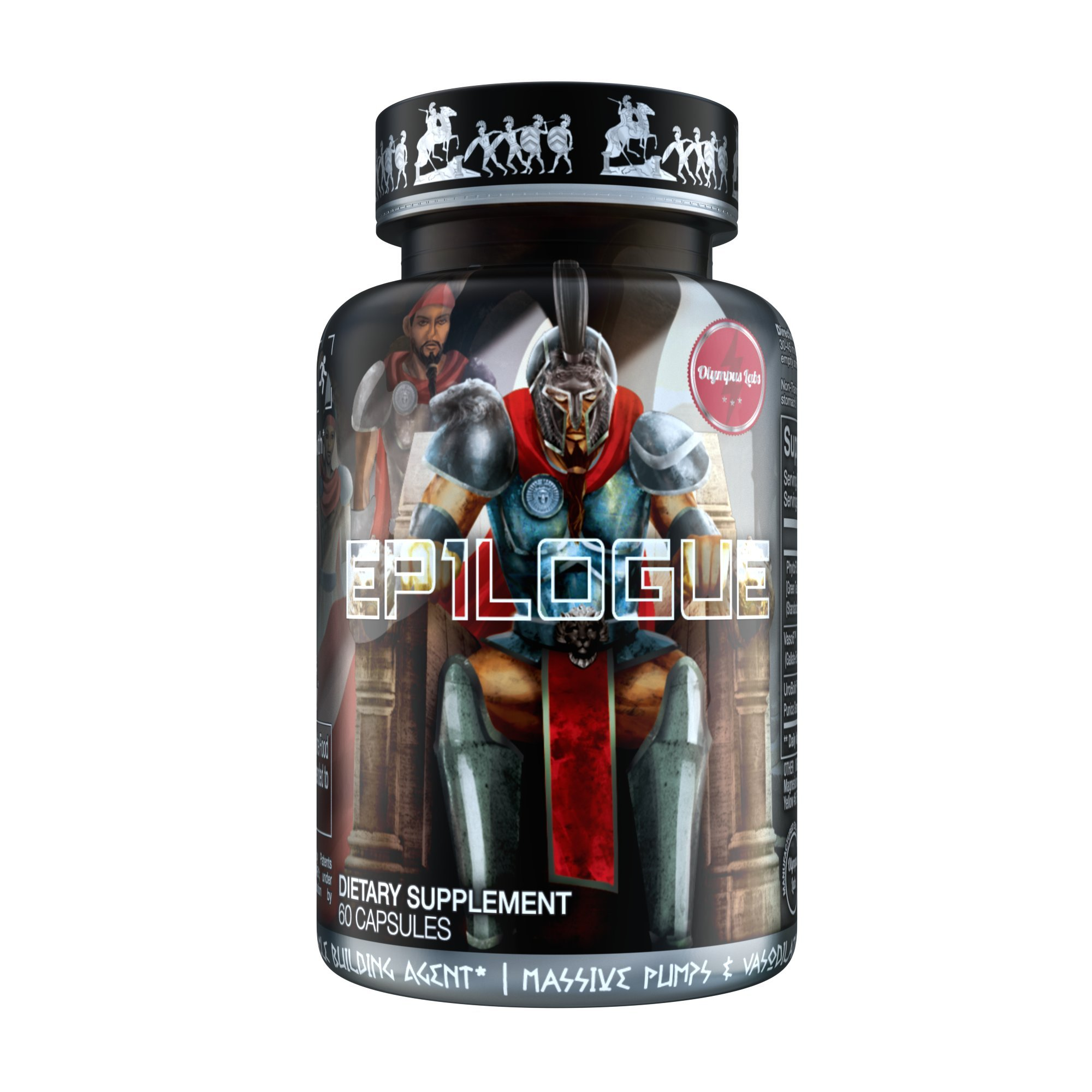 EP1LOGUE Muscle Builder & Epicatechin Supplement w/ Superior Absorption | Lean Muscle Building Formula w/ Nitric Oxide Stimulator VASO-6 & Urolithin B for Natural Body Building by Olympus Labs