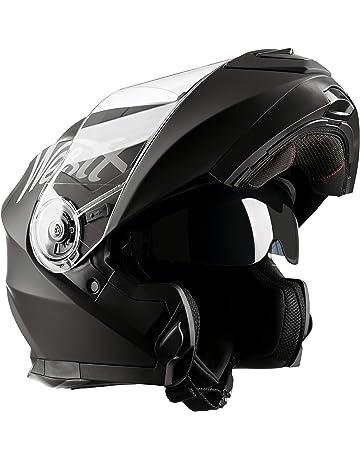 b106f2b0a5191 Westt® Torque X · Casco Moto Modular con Doble Visera para Ciclomotor  Motocicleta y Scooter