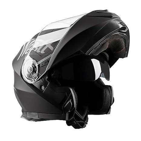 Westt® Torque X · Casco Moto Modular con Doble Visera para Ciclomotor Motocicleta y Scooter