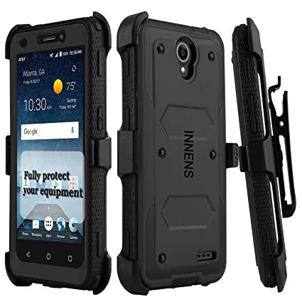 new products 99c61 06877 Amazon.com: Innens Compatible ZTE N9136 Case, [Shockproof] Hybrid ...