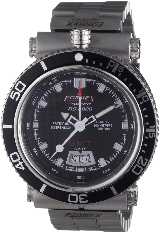 Formex 4 Speed Herren-Armbanduhr XL DS2000 Analog Edelstahl 20003.2021