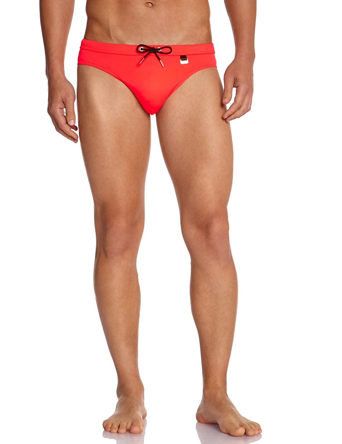 Hom Men's Marine Chic Mini Briefs Swim Trunks 10119956