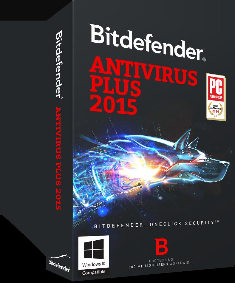 Bitdefender Antivirus Plus 2015 - 1 PC, 1 year [Download]