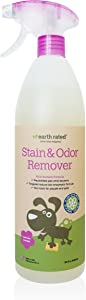 Earth Rated Pet Stain and Odor Remover Powerful Multi-Surface Natural Bio-Enzymatic Formula, 32 fl. oz.